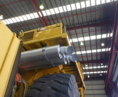 Mining Exhaust Technology